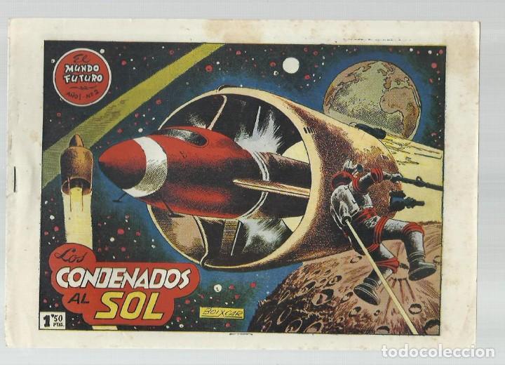 EL MUNDO FUTURO 2, 1955, TORAY, ORIGINAL, BUEN ESTADO (Tebeos y Comics - Toray - Mundo Futuro)