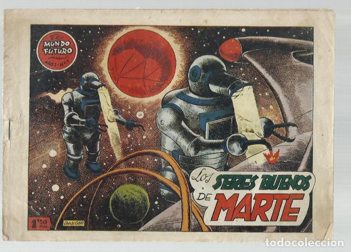 EL MUNDO FUTURO 1, 1955, TORAY, ORIGINAL, BUEN ESTADO (Tebeos y Comics - Toray - Mundo Futuro)