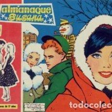 Tebeos: SUSANA-ALMANAQUE PARA 1960-JOSÉ GONZÁLEZ-A.COLMEIRO-1959-ESCASO-CORRECTO-LEA-4679. Lote 261212160