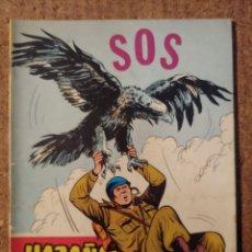Tebeos: COMIC DE HAZAÑAS BELICAS EN S. O. S. DEL AÑO 1958 Nº 253. Lote 261227855