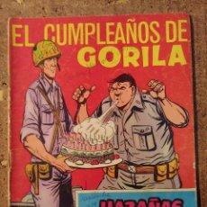 Tebeos: COMIC DE HAZAÑAS BELICAS EN EL CUMPLEAÑOS DE GORILA DEL AÑO 1958 Nº 239. Lote 261228055
