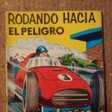 Tebeos: COMIC DE HAZAÑAS BELICAS EN RODANDO HACIA EL PELIGRO DEL AÑO 1968 Nº 250. Lote 261228530
