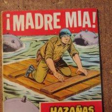 Tebeos: COMIC DE HAZAÑAS BELICAS EN MADRE MIA DEL AÑO 1958 Nº 252. Lote 261228715
