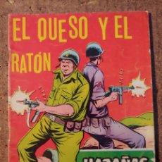 Tebeos: COMIC DE HAZAÑAS BELICAS EN EL QUESO Y EL RATON DEL AÑO 1958 Nº 263. Lote 261228895