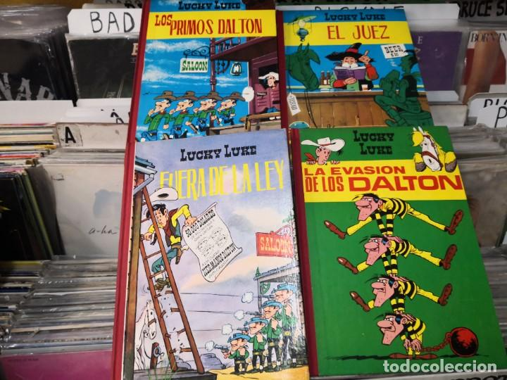 LOTE 4 LUCKY LUKE ,ED TORAY 1969,MUY BUEN ESTADO (Tebeos y Comics - Toray - Otros)