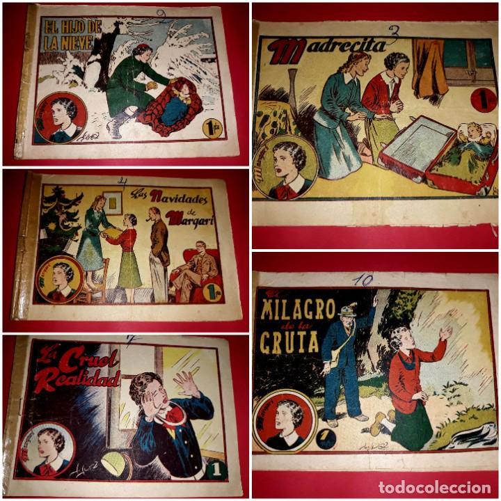 COLECCIÓN COMPLETA MARGARÍ ( CONSTA DE 16 EJEMPLARES ) TORAY 1950 (Tebeos y Comics - Toray - Otros)