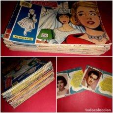 Tebeos: LOTE COLECCIÓN 67 ROSAS BLANCAS Y 2 EXTRAS TORAY 1958 ( FOTOS DE TODOS ). Lote 261964400