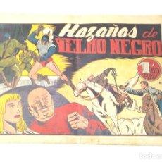 Tebeos: YELMO NEGRO Nº 1 HAZAÑAS DE YELMO NEGRO. EDITORIAL TORAY ORIGINAL AÑO 1947. Lote 262045480