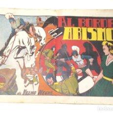 Tebeos: YELMO NEGRO Nº 3 AL BORDE DEL ABISMO. EDITORIAL TORAY ORIGINAL AÑO 1947. Lote 262046270