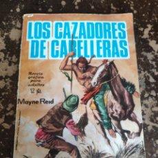 Tebeos: NOVELAS GRAFICAS N° 30: LOS CAZADORES DE CABELLERAS (MAYNE REID) (ED. TORAY). Lote 262049295