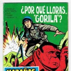 Livros de Banda Desenhada: HAZAÑAS BÉLICAS Nº 168 ¿POR QUÉ LLORAS GORILA? - TORAY 1965. Lote 262150645