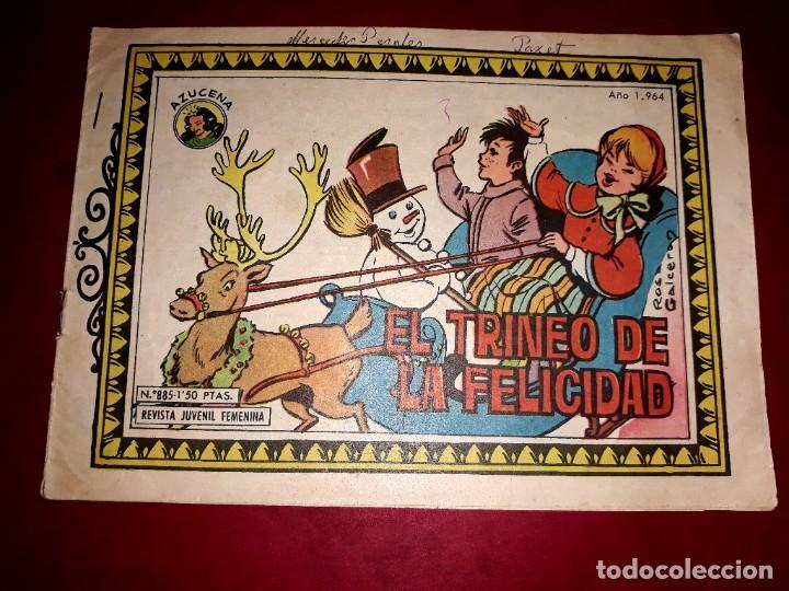 AZUCENA Nº 885 (Tebeos y Comics - Toray - Azucena)