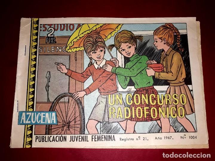 AZUCENA Nº 1004 (Tebeos y Comics - Toray - Azucena)