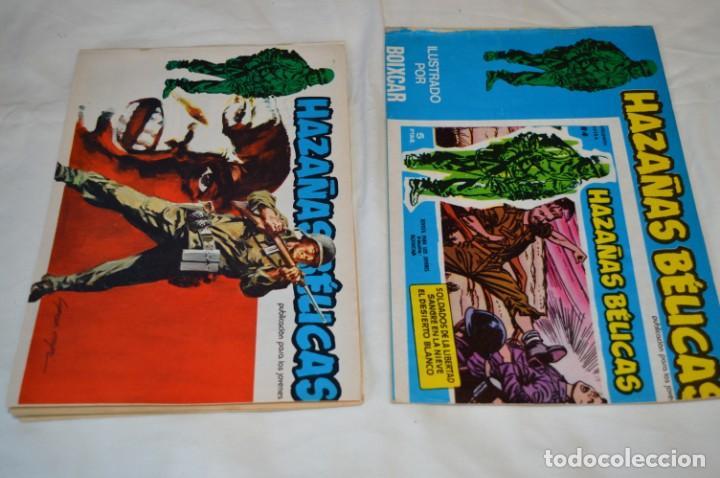 Tebeos: 11 Ejemplares Comics / 10 Hazañas Bélicas y 1 Relatos de Guerra - Diferentes formatos - ¡Mira fotos! - Foto 2 - 262379000