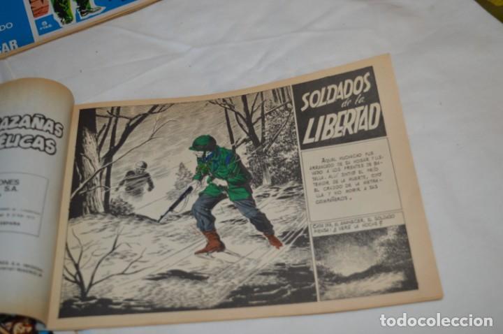 Tebeos: 11 Ejemplares Comics / 10 Hazañas Bélicas y 1 Relatos de Guerra - Diferentes formatos - ¡Mira fotos! - Foto 3 - 262379000