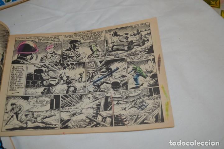 Tebeos: 11 Ejemplares Comics / 10 Hazañas Bélicas y 1 Relatos de Guerra - Diferentes formatos - ¡Mira fotos! - Foto 4 - 262379000