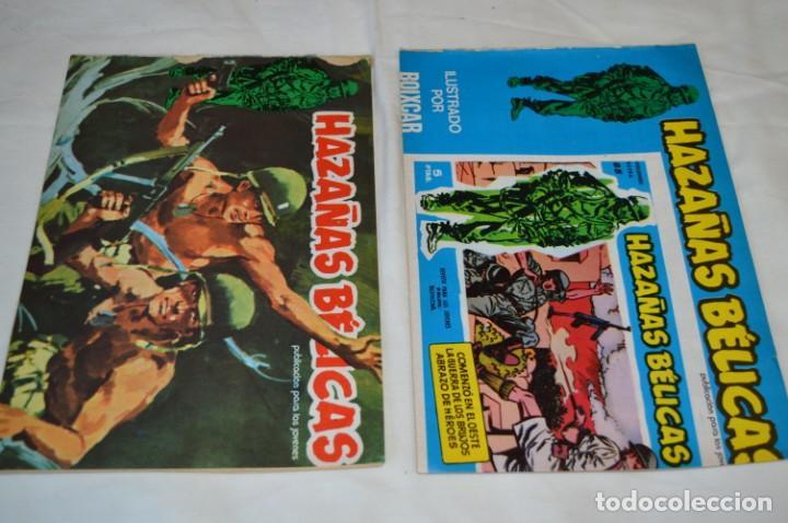 Tebeos: 11 Ejemplares Comics / 10 Hazañas Bélicas y 1 Relatos de Guerra - Diferentes formatos - ¡Mira fotos! - Foto 5 - 262379000