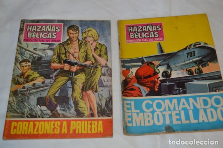 Tebeos: 11 Ejemplares Comics / 10 Hazañas Bélicas y 1 Relatos de Guerra - Diferentes formatos - ¡Mira fotos! - Foto 8 - 262379000