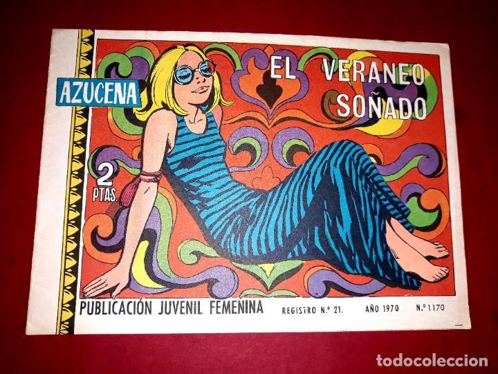 AZUCENA Nº 1170 (Tebeos y Comics - Toray - Azucena)