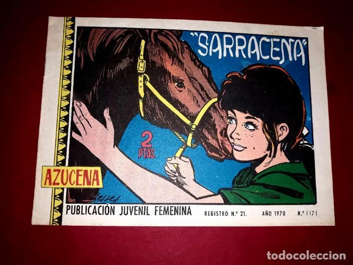 AZUCENA Nº 1171 (Tebeos y Comics - Toray - Azucena)