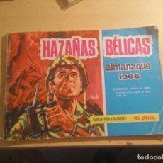 Tebeos: ALMANAQUE HAZAÑAS BELICAS 1966. Lote 262422850