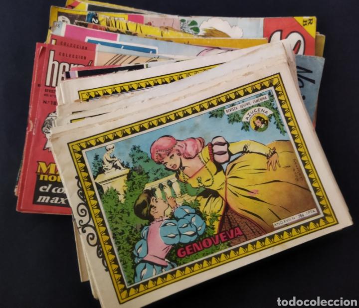 Tebeos: Lote de más de 55 cómics Femeninos años 50-60 - Foto 2 - 262669280
