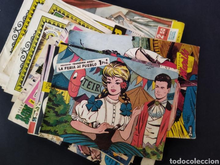 LOTE DE MÁS DE 55 CÓMICS FEMENINOS AÑOS 50-60 (Tebeos y Comics - Toray - Azucena)