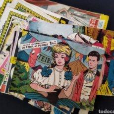 Tebeos: LOTE DE MÁS DE 55 CÓMICS FEMENINOS AÑOS 50-60. Lote 262669280