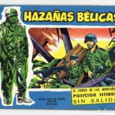 Tebeos: HAZAÑAS BÉLICAS EXTRA Nº 138 (ORIGINAL) SERIE AZUL -TORAY 1962. Lote 262723395