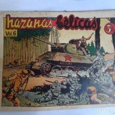 Tebeos: HAZAÑAS BÉLICAS , BOIXCAR , ED TORAY , VOLUMEN 6 , 3 PTS , VER FOTOS. Lote 262751370