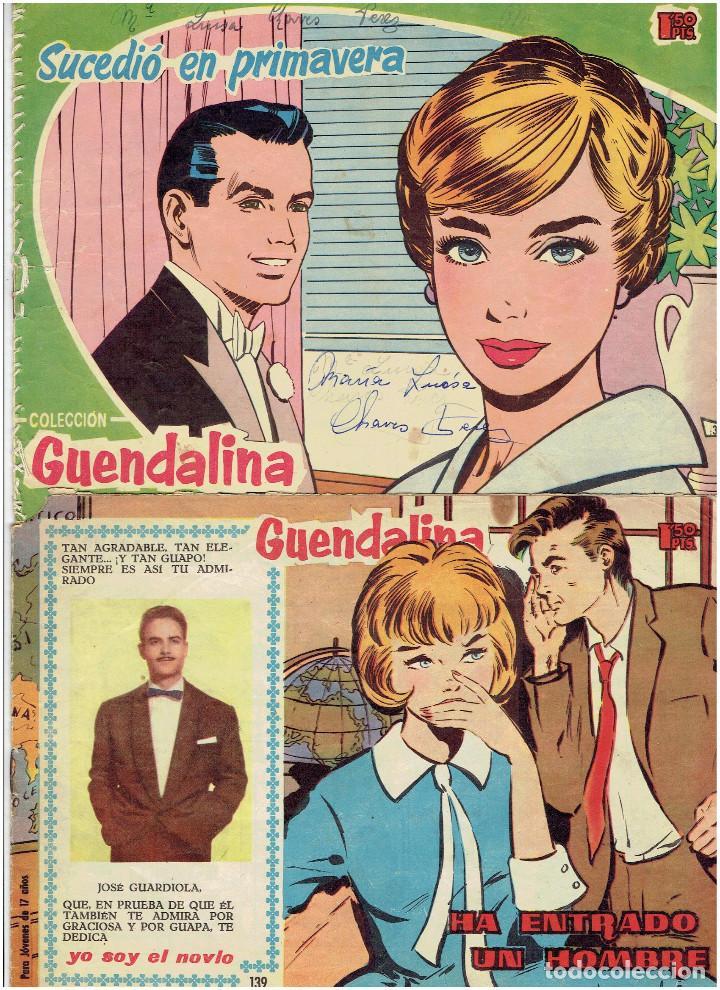 ARCHIVO * COLECCION GUENDALINA * EDICIONES TORAY 1959 * LOTE DE Nº 3, 139,* (Tebeos y Comics - Toray - Guendalina)