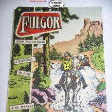 Tebeos: FULGOR Nº 17, MENSAJE SECRETO, ED. TORAY, MUY DIFICIL. Lote 263074825