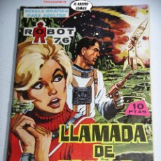 Tebeos: ROBOT 76 Nº 4, LLAMADA DE SOCORRO, ED. TORAY, CIENCIA FICCION. Lote 263075490