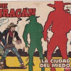 Tebeos: JIM HURACAN : NUMERO 21 LA CIUDAD DEL MIEDO, EDITORIAL TORAY. Lote 263115530