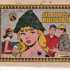 Tebeos: COLECCION AZUCENA: NUMERO 555 CAPRICHOS DE MILLONARIA, EDITORIAL TORAY. Lote 263127690