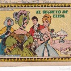Tebeos: COLECCION AZUCENA: NUMERO 586 EL SECRETO DE ELISA, EDITORIAL TORAY. Lote 263158555
