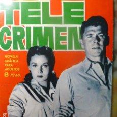 Tebeos: COMIC TELE CRIMEN ESPIONAJE 1965. Lote 263670460