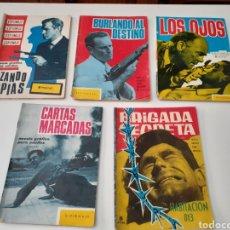 BDs: LOTE DE 5 NOVELAS GRAFICAS DE ESPIONAJE. EDICIONES TORAY. AÑOS 60. TODOS LOS DE LAS FOTOS.. Lote 263914160