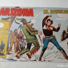 Tebeos: ORIGINAL NO COPIA ARIZONA EL REBELDE 169 AÑO 1958 TORAY. Lote 263918785
