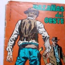 Tebeos: HAZAÑAS DEL OESTE- Nº 104 -F.AGRÁS-A.LÓPEZ-DIEG0-1966-CASI BUENO-ÚNICO EN TC-LEAN-4793. Lote 264442869