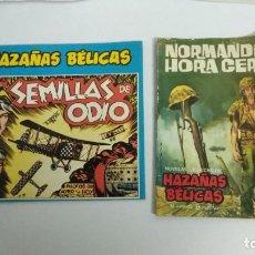 Tebeos: COMICS: HAZAÑAS BELICAS/NORMANDÍA HORA CERO. Lote 264721879