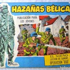 """Tebeos: TEBEO AZAÑAS BÉLICAS, Nº EXTRA 285 """" EL SUEÑO LECCION DE SANGRE OPERACION """"OSO"""", TORAY 1958. Lote 264738729"""