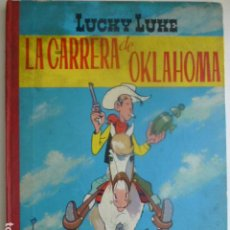 Tebeos: LUCKY LUKE LA CARRERA DE OKLAHOMA 1964. Lote 265103869