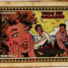 Livros de Banda Desenhada: AZUCENA - Nº 729 -TODO UN CORAZON - COMIC. Lote 265114289