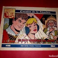 Tebeos: CUENTOS DE LA ABUELITA Nº 290 TORAY. Lote 265358344