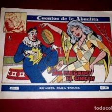 Tebeos: CUENTOS DE LA ABUELITA Nº 310 TORAY. Lote 265501019
