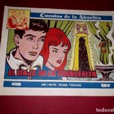Tebeos: CUENTOS DE LA ABUELITA Nº 319 TORAY. Lote 265503499