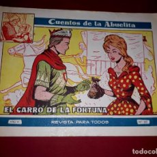Tebeos: CUENTOS DE LA ABUELITA Nº 322 TORAY. Lote 265504049