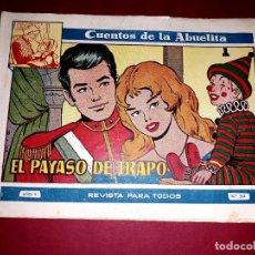 Tebeos: CUENTOS DE LA ABUELITA Nº 264 TORAY. Lote 265512339