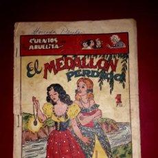 Tebeos: CUENTOS DE LA ABUELITA Nº 19 1ª EPOCA 1949 TORAY. Lote 265533054